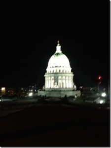 Madison WI - Capitol at night